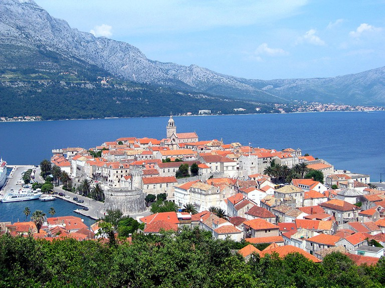 The town of Korcula