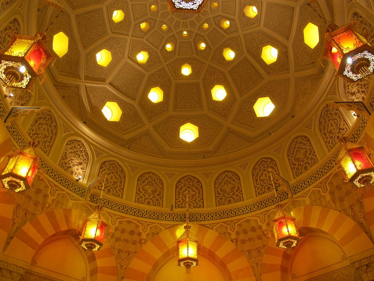 Turkish Bath Ceiling | © I, Sailko/WikiCommons