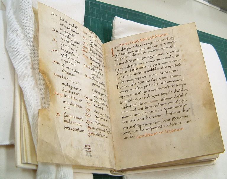 A 10th-century copy of Apicius | © Bonho1962/WikiCommons
