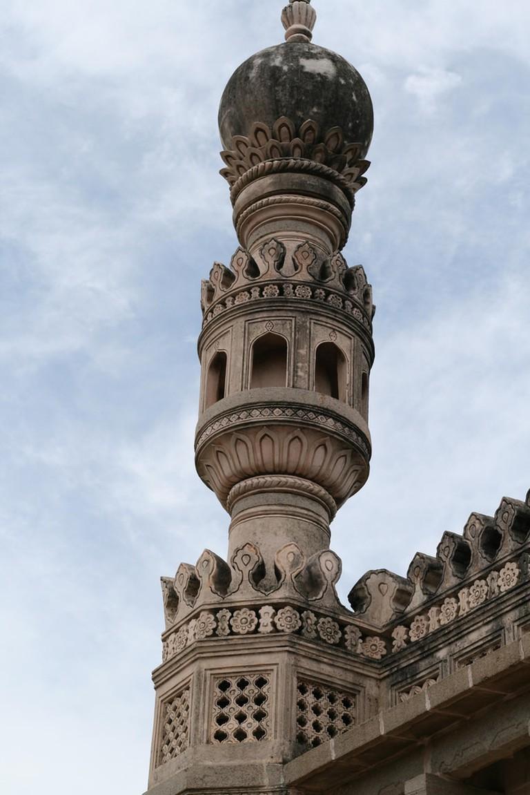 A minaret at the fort