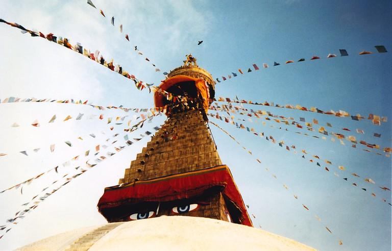 Boudhanath stupa, Kathmandu | ©SarahTz/Flickr