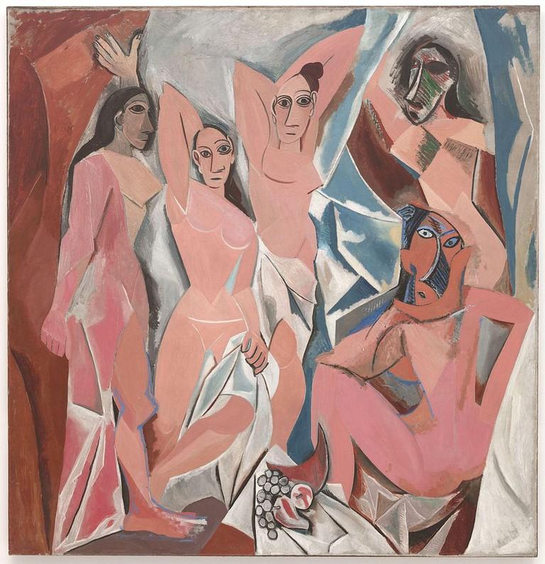 Pablo Picasso, Les Demoiselles d'Avignon, 1907 | © History Stack/Flickr