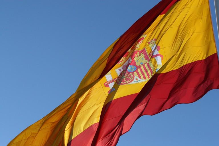 The Spanish flag | © Gilad Rom / Flickr