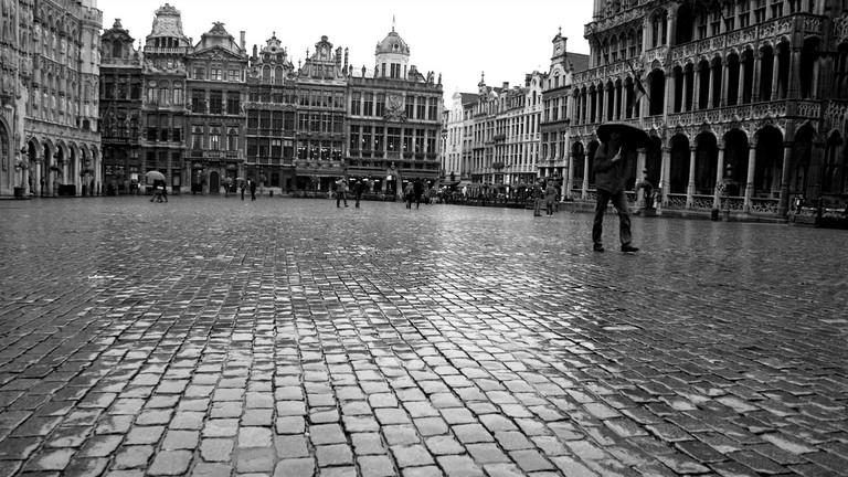 Rain in Brussels |Peter.Lorre/Flickr