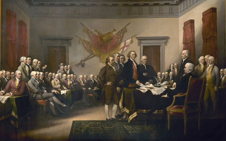John Trumbull - Declaration of Independence | © Jim Trodel/Flickr