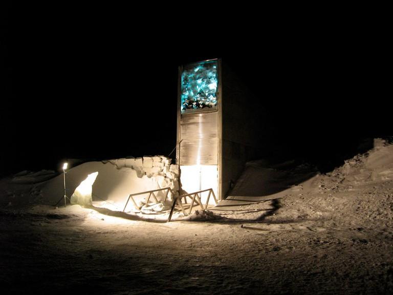 Svalbard Global Seed Vault | © Dag Terje Filip Endresen