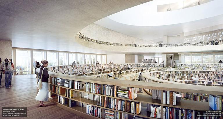 Reading Room © 2016, Herzog & de Meuron Basel