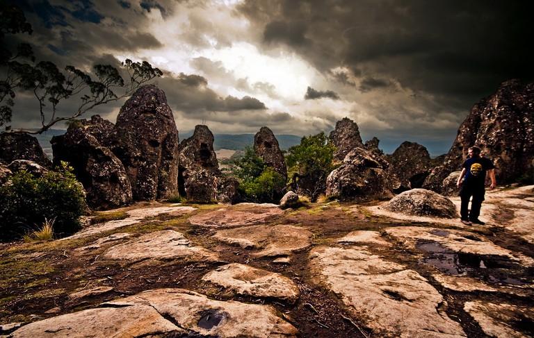 hanging rock, Australia © Fernando de Sousa