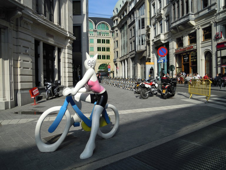 Villo Bikes Brussels |charlie_lcc/Flickr