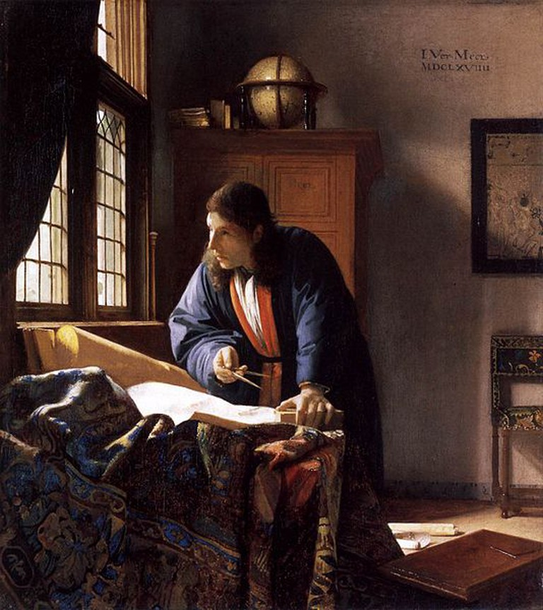 Johannes Vermeer, The Geographer