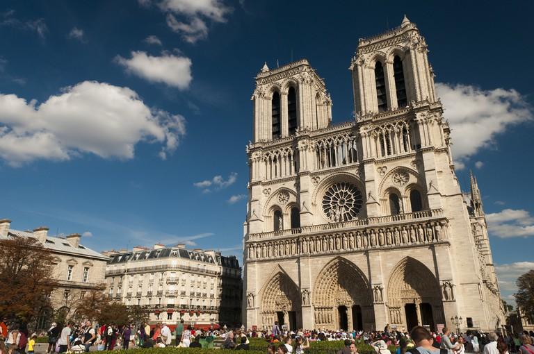 Cathédrale Notre-Dame de Paris © Anna & Michal/flickr