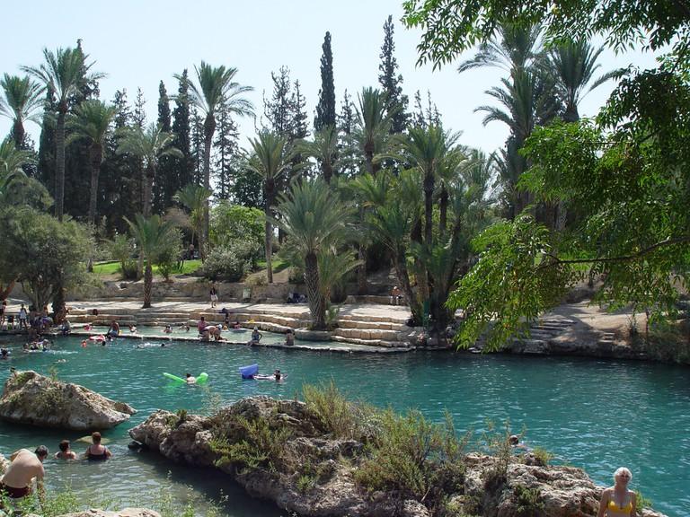 Hamat Gader Baths © israeltourism