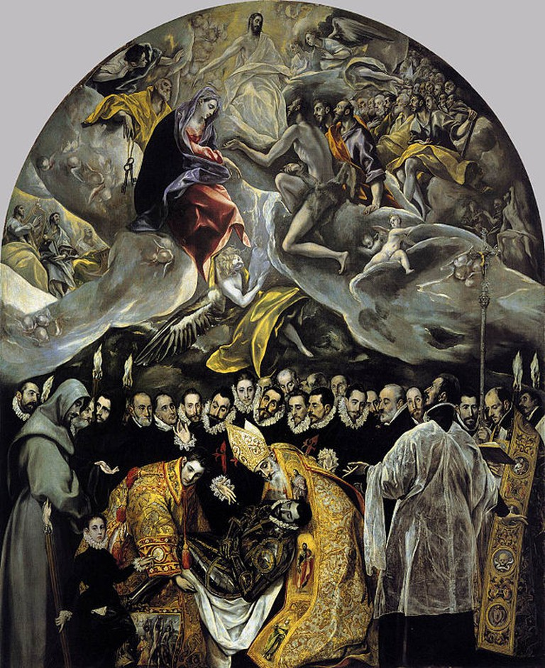 El Greco, The Burial of the Count of Orgaz | © Iglesia de Santo Tomé (Toledo)/WikiCommons