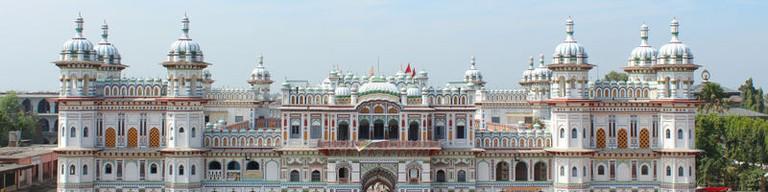 Janki Mandir temple in Janakpur, Nepal | ©Abhishek Dutta (http://abhishekdutta.org)/WikiCommons