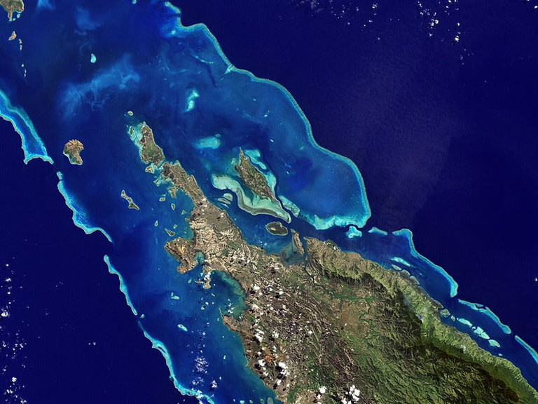 Barrier reef New Caledonia