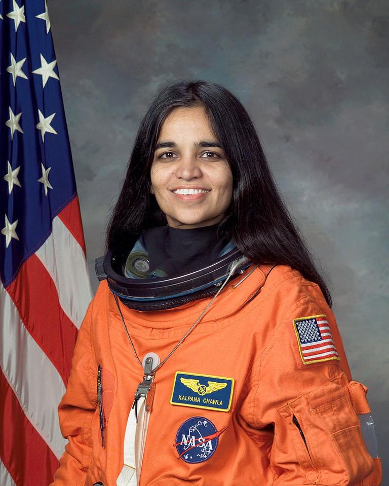 Kalpana Chawla |© Wikimedia Commons
