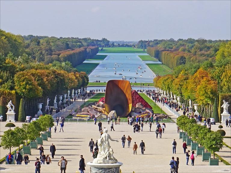 Anish Kapoor, Dirty Corner, Palace of Versailles