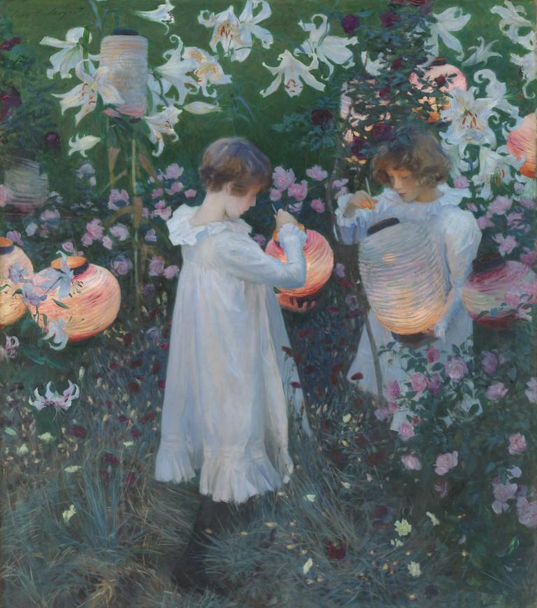 Sargent, Carnation, Lily, Lily, Rose, 1886 | © John SInger Sargent
