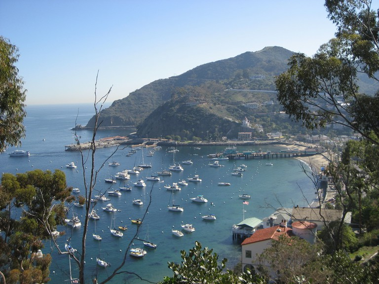 Avalon Bay on Catalina Island | ©theritters/Flickr