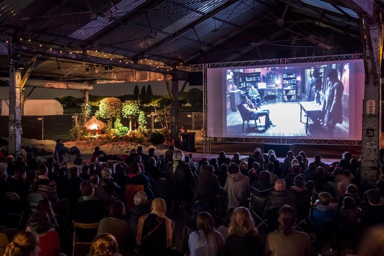 Cinema Urbana, an open-air movie delight © Sigrid Spinnox, Courtesy of Zomer van Antwerpen
