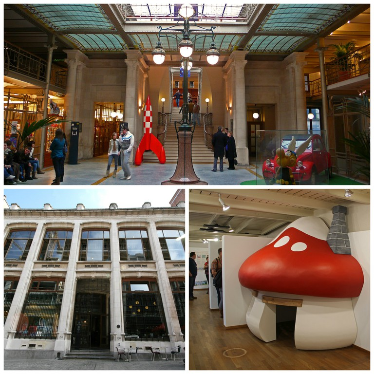 The Brussels Comic Strip Museum | © Daniel Fouss, Courtesy of the Belgian Comic Strip Center