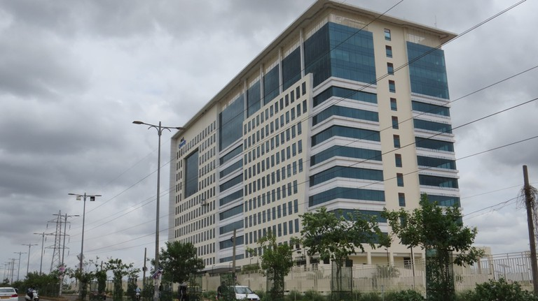 The changing Bhubaneswar: DLF Cyber City(Photo: Rakesh Mohanty)