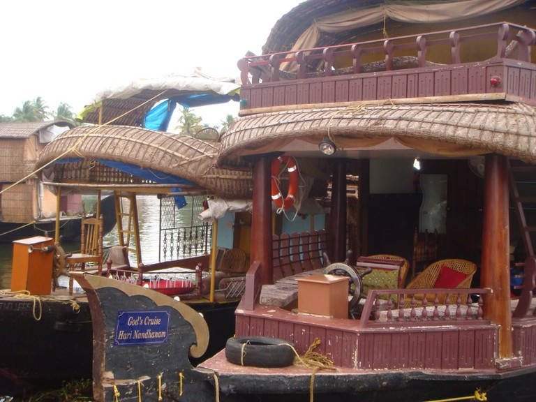 Inside of a Houseboat