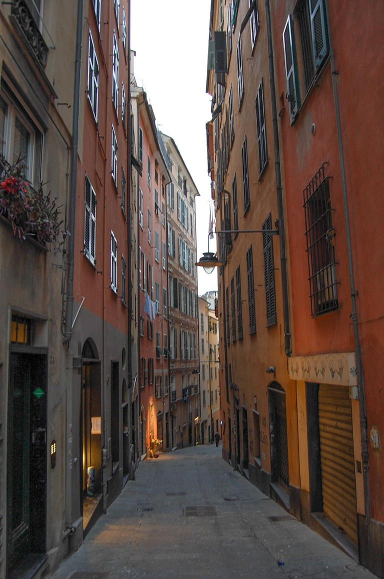 Genoa old town ©Pia Staigmueller