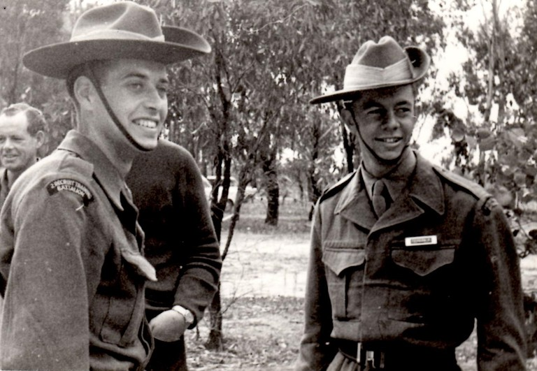 Men in uniform, Courtesy of Robert Tevelen