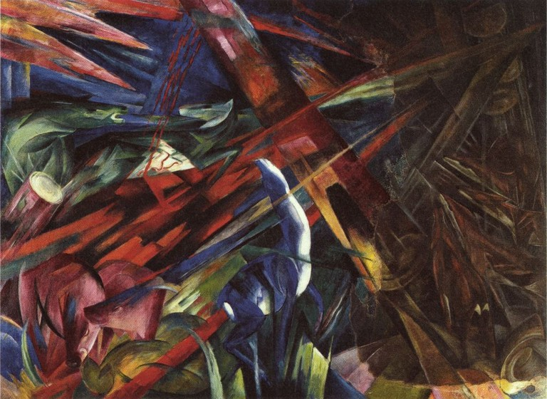 Franz Marc, Fate of the Animals, 1913