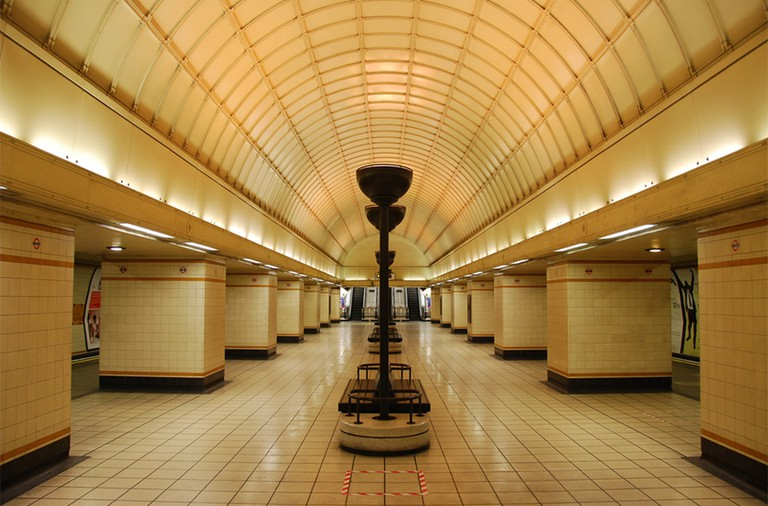 Gants Hill Station Interiors