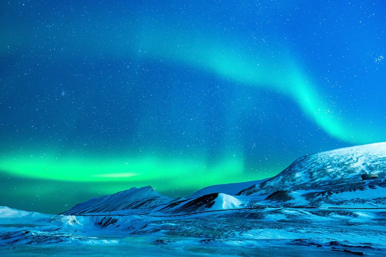 A stunning Svalbard sky