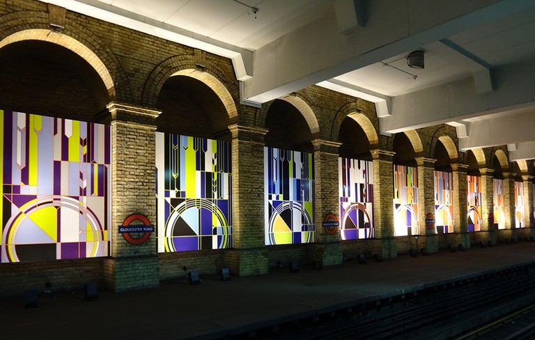 Gloucester Road Station Interiors