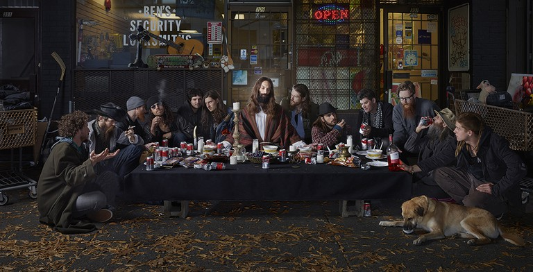 The Last Supper from Gods of Suburbia | © Dina Goldstein