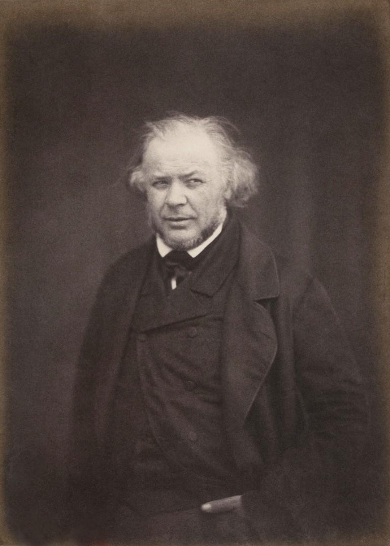 Honoré Daumier c1850 - crop © WikiCommons