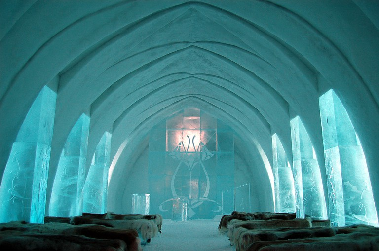 The ICEHOTEL, Sweden | © bjaglin/Flickr
