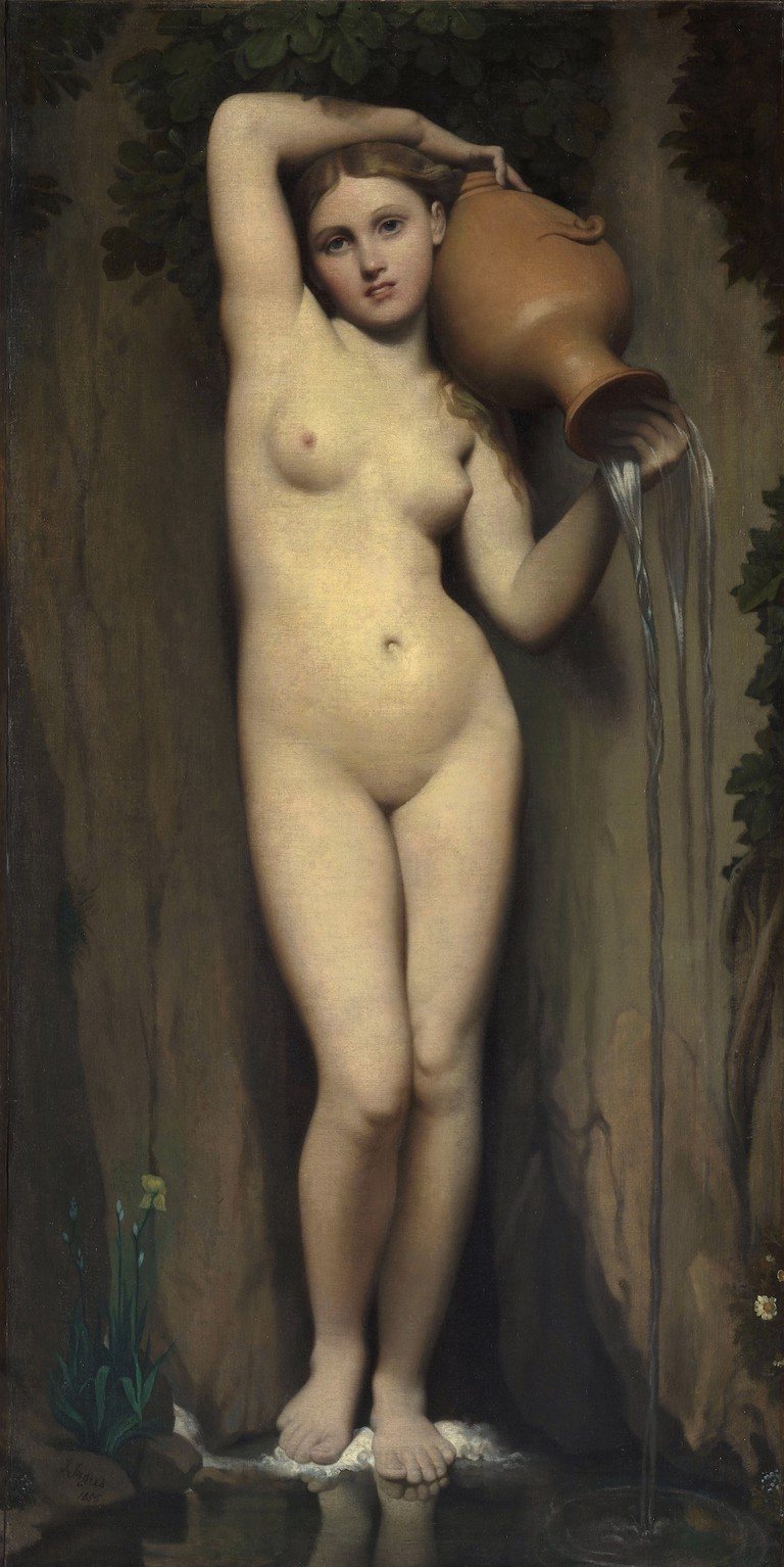 Ingres, La Source, 1856 | © Musée d'Orsay/WikiCommons