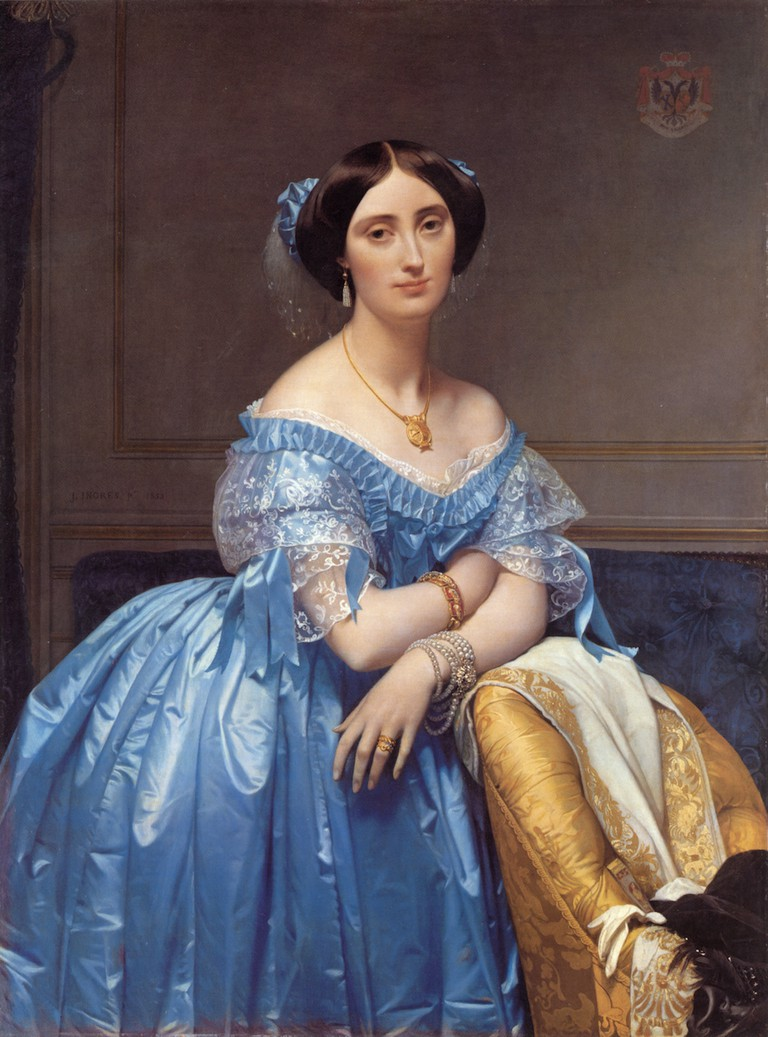 Ingres, Portrait of the Princesse Broglie, 1853