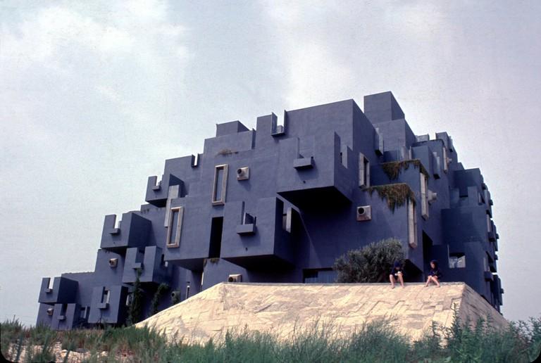 Exterior view of El Castillo Kafka | Courtesy of Ricardo Bofill