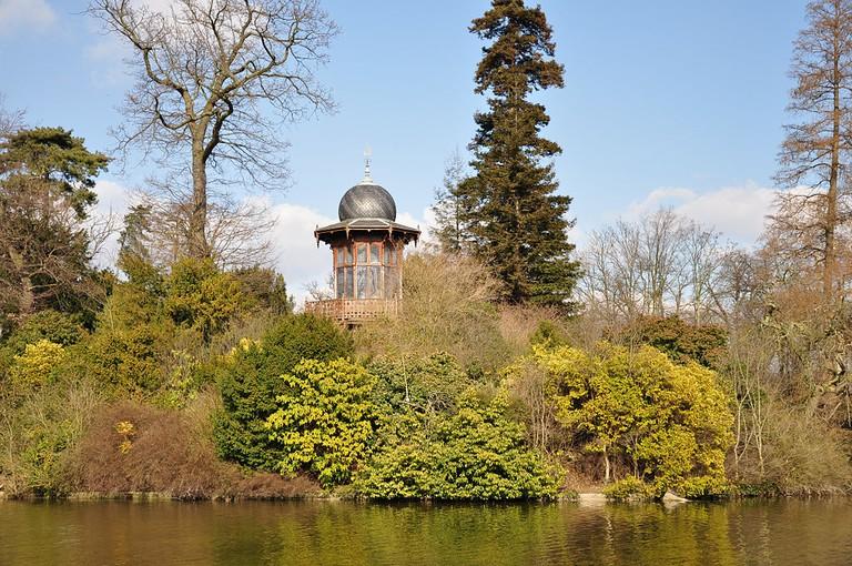Kiosque de l'Empereur in the Bois de Boulogne