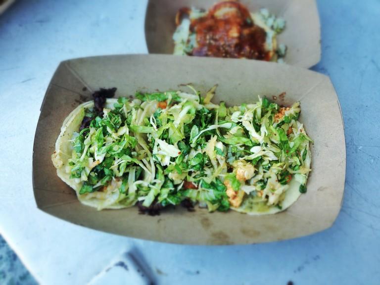 Short Rib and Tofu Tacos at Kogi BBQ | ©T.Tseng/Flickr