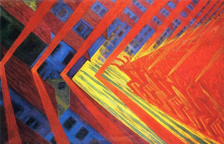 """The Revolt"" by Luigi Russolo 
