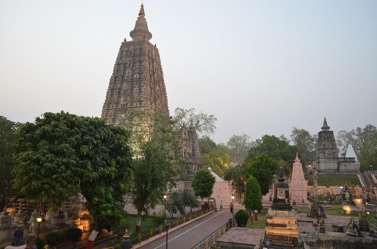 Mahabodhi Temple, BodhGaya |© Matt Stabile/Flickr