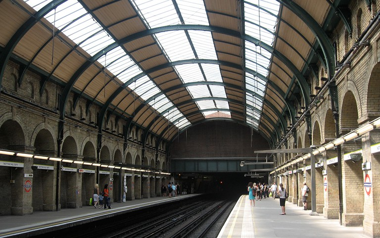 Notting Hill Gate Station Interiors