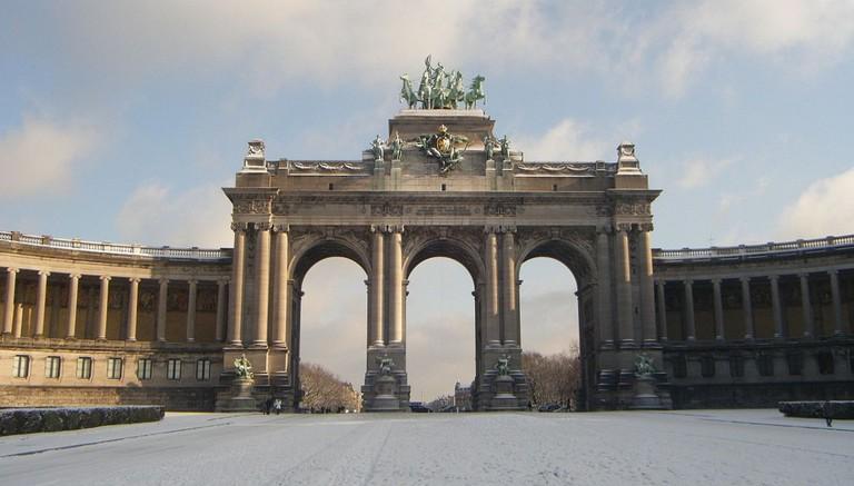 Cinquantenaire arches and wings  © Wiki/Mirej