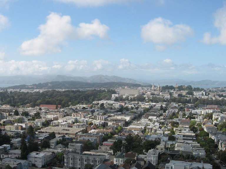 View Overlooking Cole Valley © Robin Sloan/Flickr