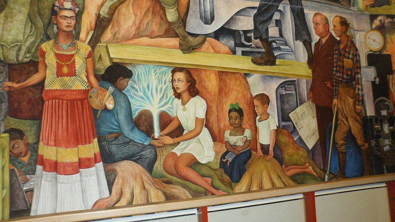 A Brief Overview Of Diego Rivera S Murals In San Francisco