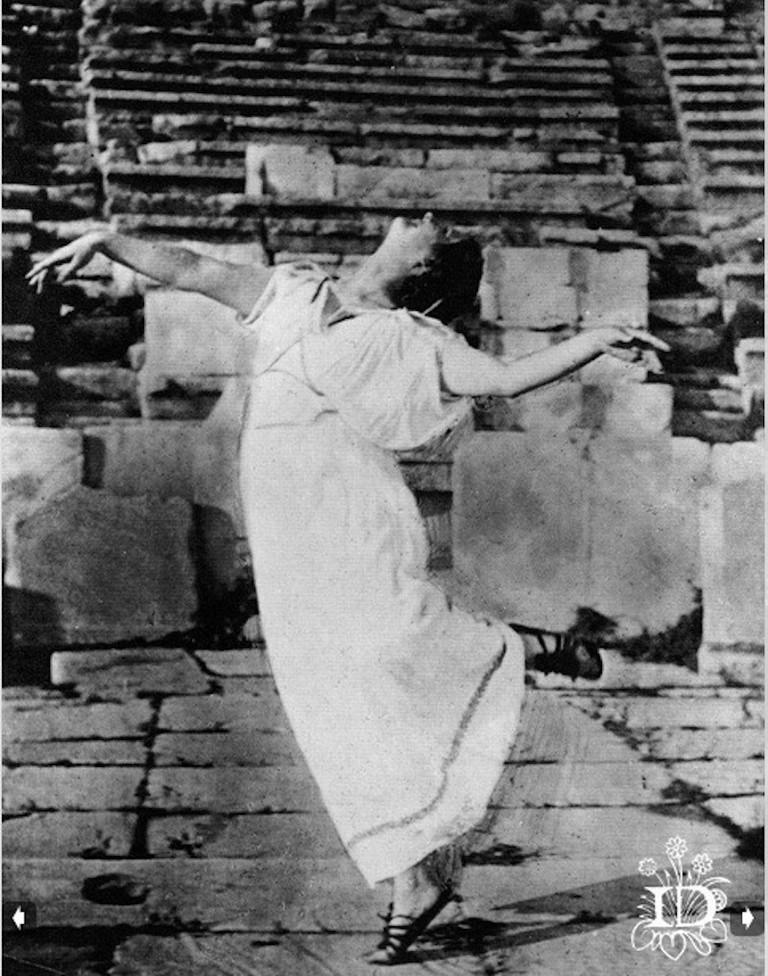 Isadora at Theatre of Dionysus