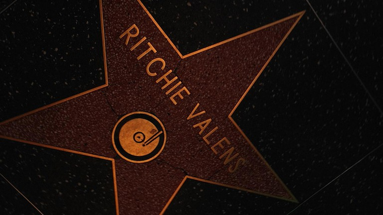 Ritchie Valens' star on the Hollywood Walk of Fame
