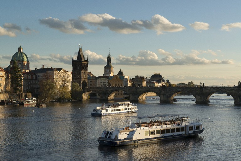 Vltava River and Charles Bridge, Prague | Courtesy Prague City Tourism
